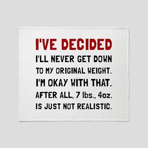 Original Weight Throw Blanket