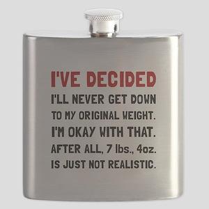 Original Weight Flask