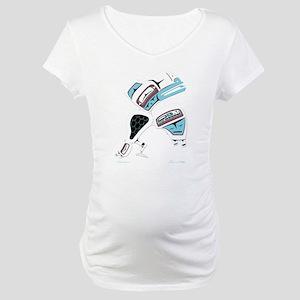 White Raven Maternity T-Shirt