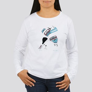 White Raven Women's Long Sleeve T-Shirt