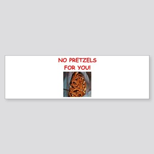 pretzel Bumper Sticker