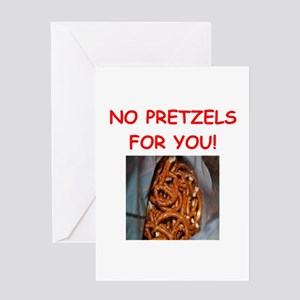 pretzel Greeting Cards