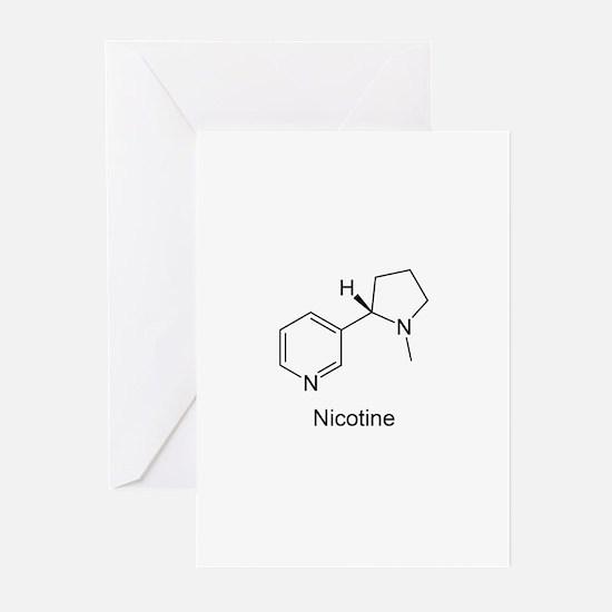 Nicotine - Smokers - Tobacco Greeting Cards (Packa