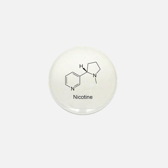 Nicotine - Smokers - Tobacco Mini Button