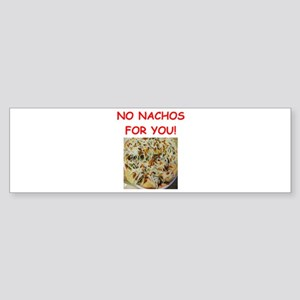nachos Bumper Sticker