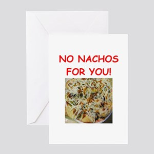 nachos Greeting Cards