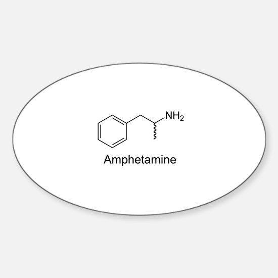 Amphetamine Oval Decal