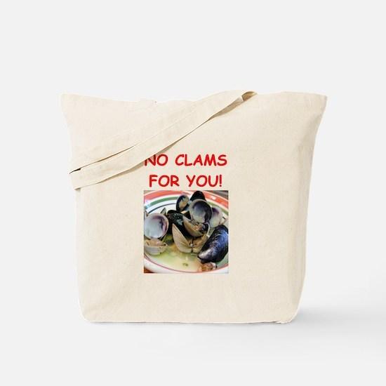clams Tote Bag
