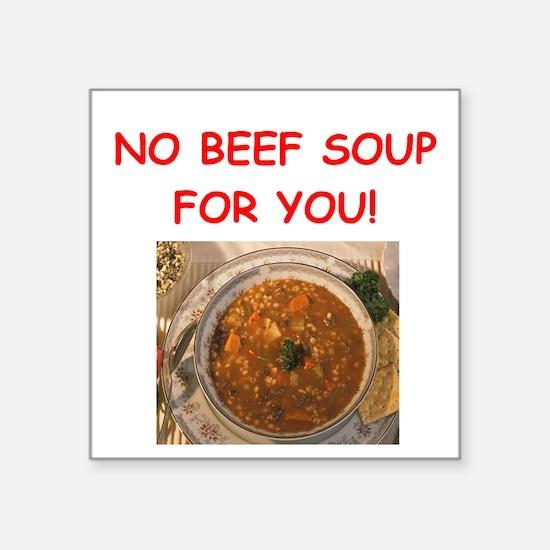 beef soup Sticker