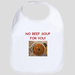 beef soup Bib