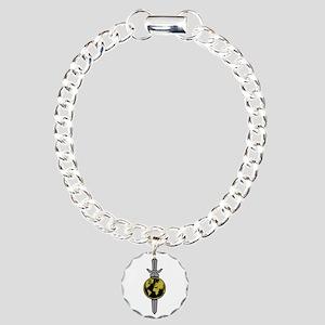 ENTERPRISE Sword Charm Bracelet, One Charm