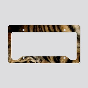 Tiger 03 License Plate Holder