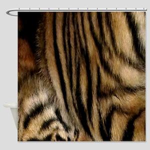 Tiger 03 Shower Curtain