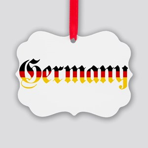 Germany in Flag Colors Ornament