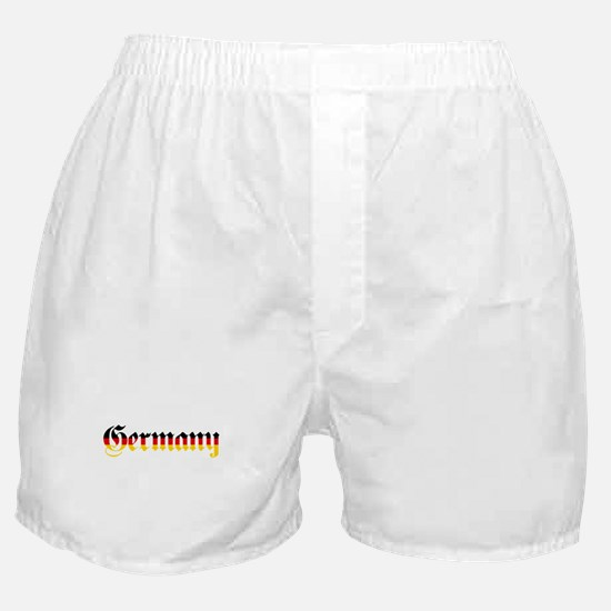 Germany in Flag Colors Boxer Shorts