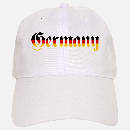 Germany in Flag Colors Baseball Baseball Baseball Cap