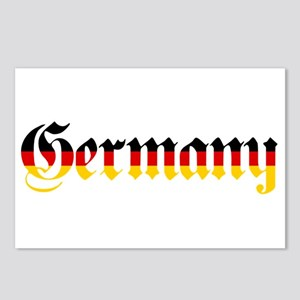 Germany in Flag Colors Postcards (Package of 8)