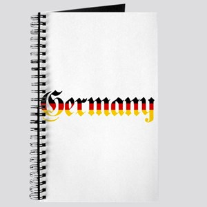 Germany in Flag Colors Journal