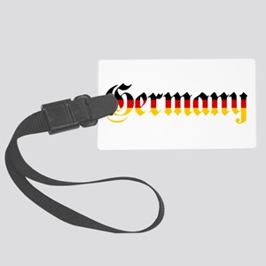 Germany in Flag Colors Luggage Tag