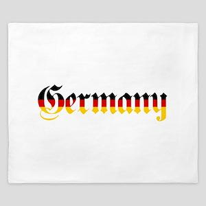 Germany in Flag Colors King Duvet