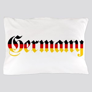 Germany in Flag Colors Pillow Case