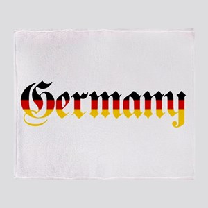 Germany in Flag Colors Throw Blanket