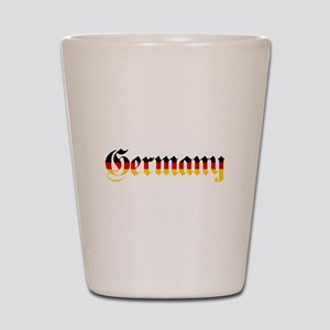 Germany in Flag Colors Shot Glass
