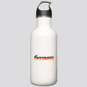 Germany in Flag Colors Water Bottle