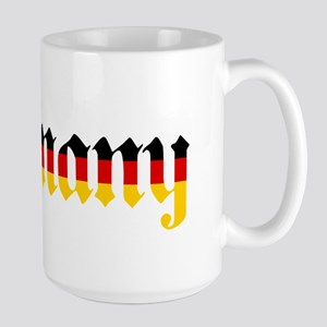 Germany in Flag Colors Mugs