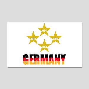 Germany Soccer Car Magnet 20 x 12