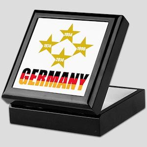 Germany Soccer Keepsake Box
