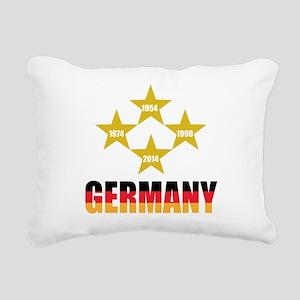 Germany Soccer Rectangular Canvas Pillow