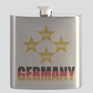 Germany Soccer Flask