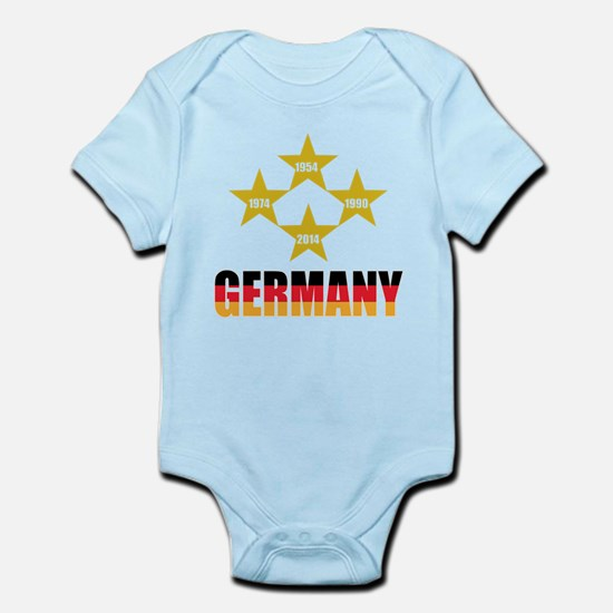 Germany Soccer Body Suit