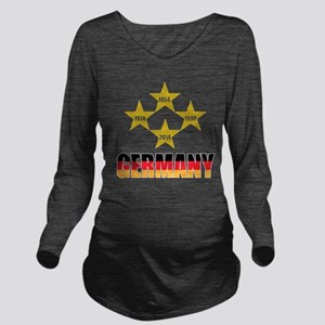 Germany Soccer Long Sleeve Maternity T-Shirt