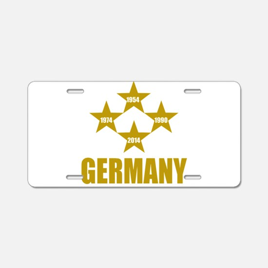 Germany Soccer Aluminum License Plate