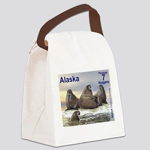 Walrus - Four Brothers Canvas Lunch Bag