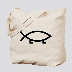 evolution fish Tote Bag