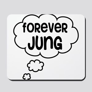 forever jung Mousepad