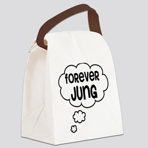 forever jung Canvas Lunch Bag