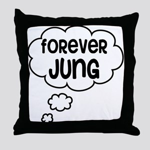 forever jung Throw Pillow