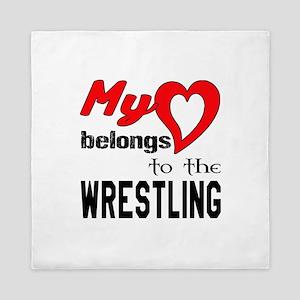 My Heart belongs to the Wrestling Queen Duvet