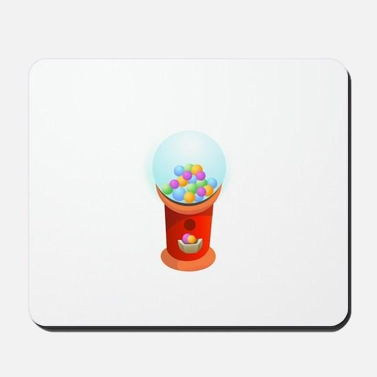 Gumball Machine Chewing Gum Mousepad