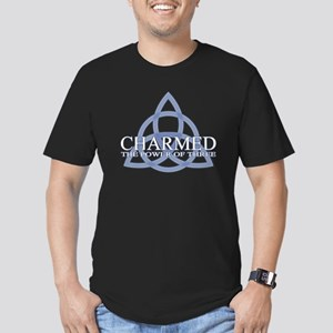 Charmed Trinity Power Men's Fitted T-Shirt (dark)