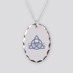 Charmed Trinity Power of Three Necklace Oval Charm