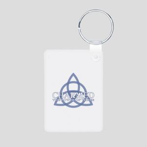 Charmed Trinity Power of T Aluminum Photo Keychain