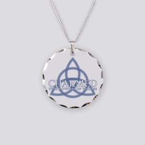 Charmed Trinity Power of Thr Necklace Circle Charm