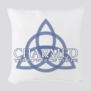 Charmed Trinity Power of Three Woven Throw Pillow