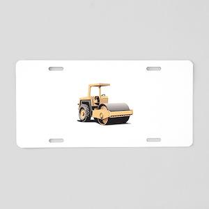 Asphalt Paving Machine Equipment Aluminum License
