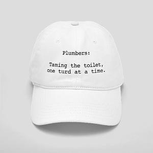 Turd Taming Plumber Cap